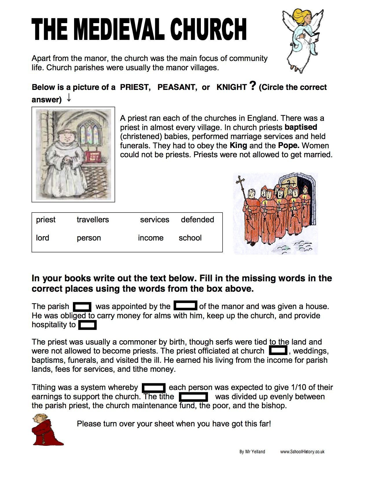 1st Grade History Worksheets Free History Worksheets Ks3 Amp Ks4 Lesson Plans Amp