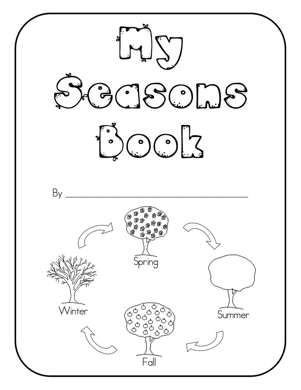 1st Grade Weather Worksheets Seasons