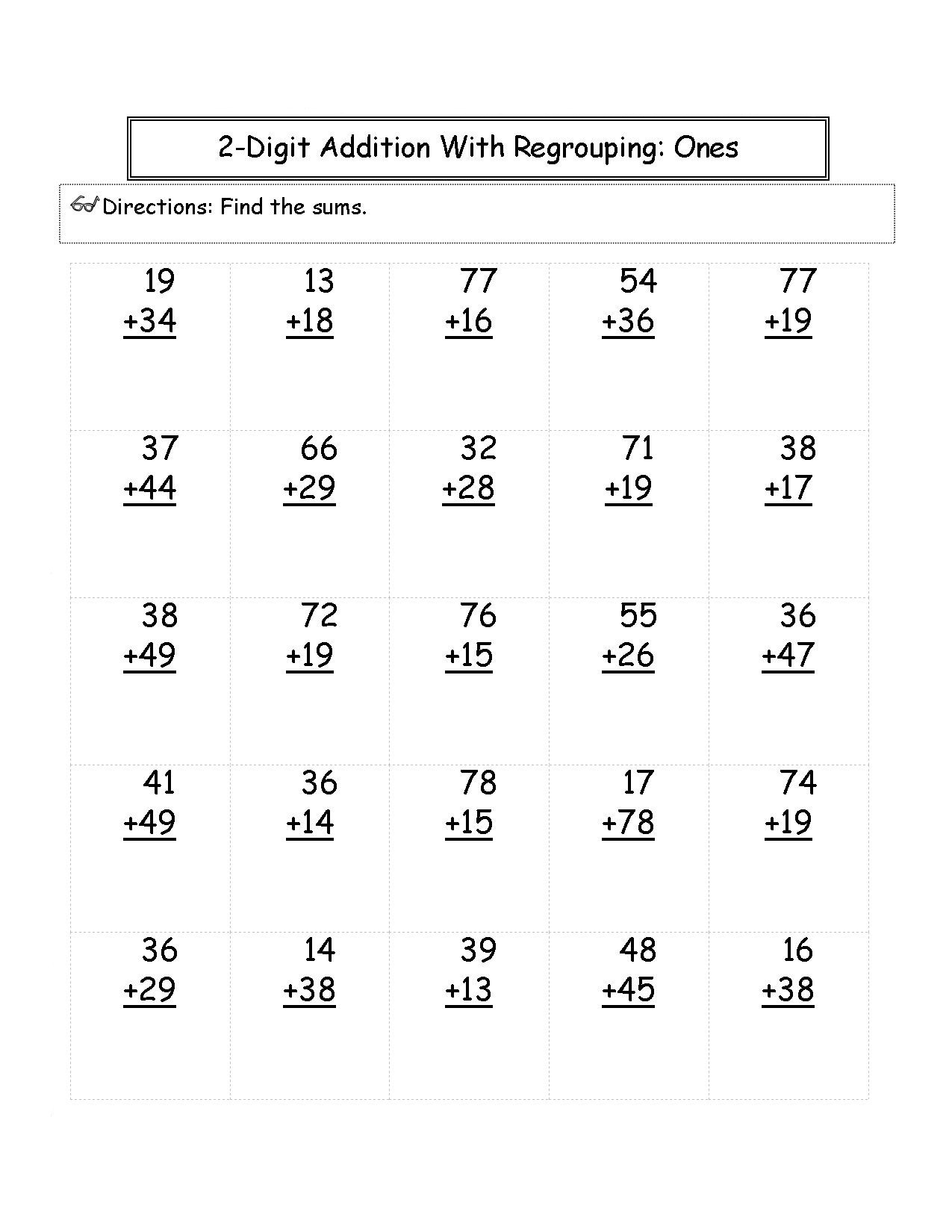 2nd Grade Multiplication Worksheets Math Worksheet 2nd Grade Activity Sheets Paring