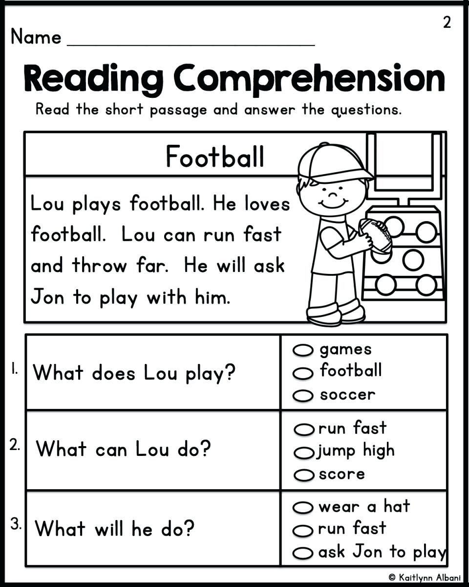 2nd Grade Reading Response Worksheets 2nd Grade Reading Prehension Pdf Grade Reading