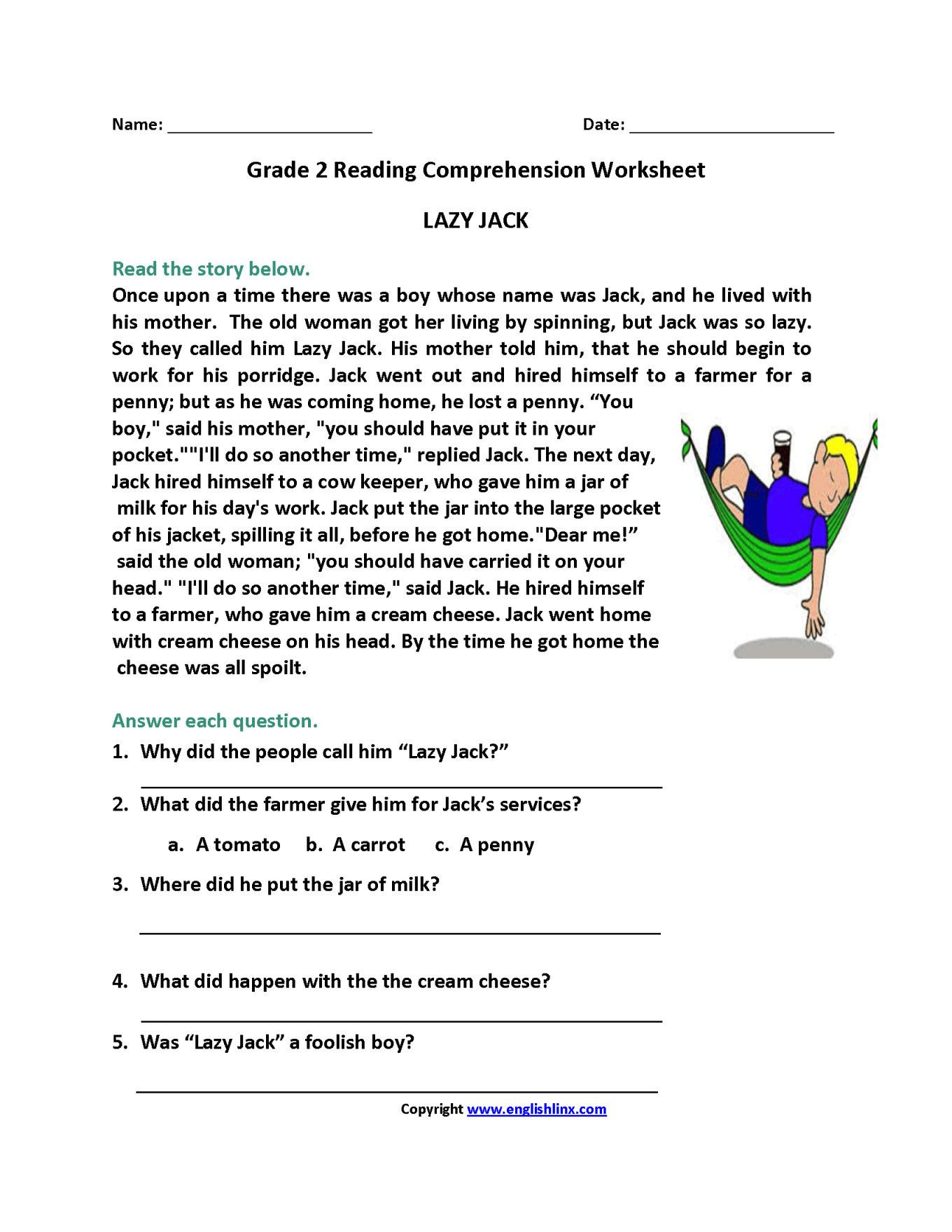 2nd Grade Reading Worksheets Printable 4 Free Math Worksheets Second Grade 2 Multiplication