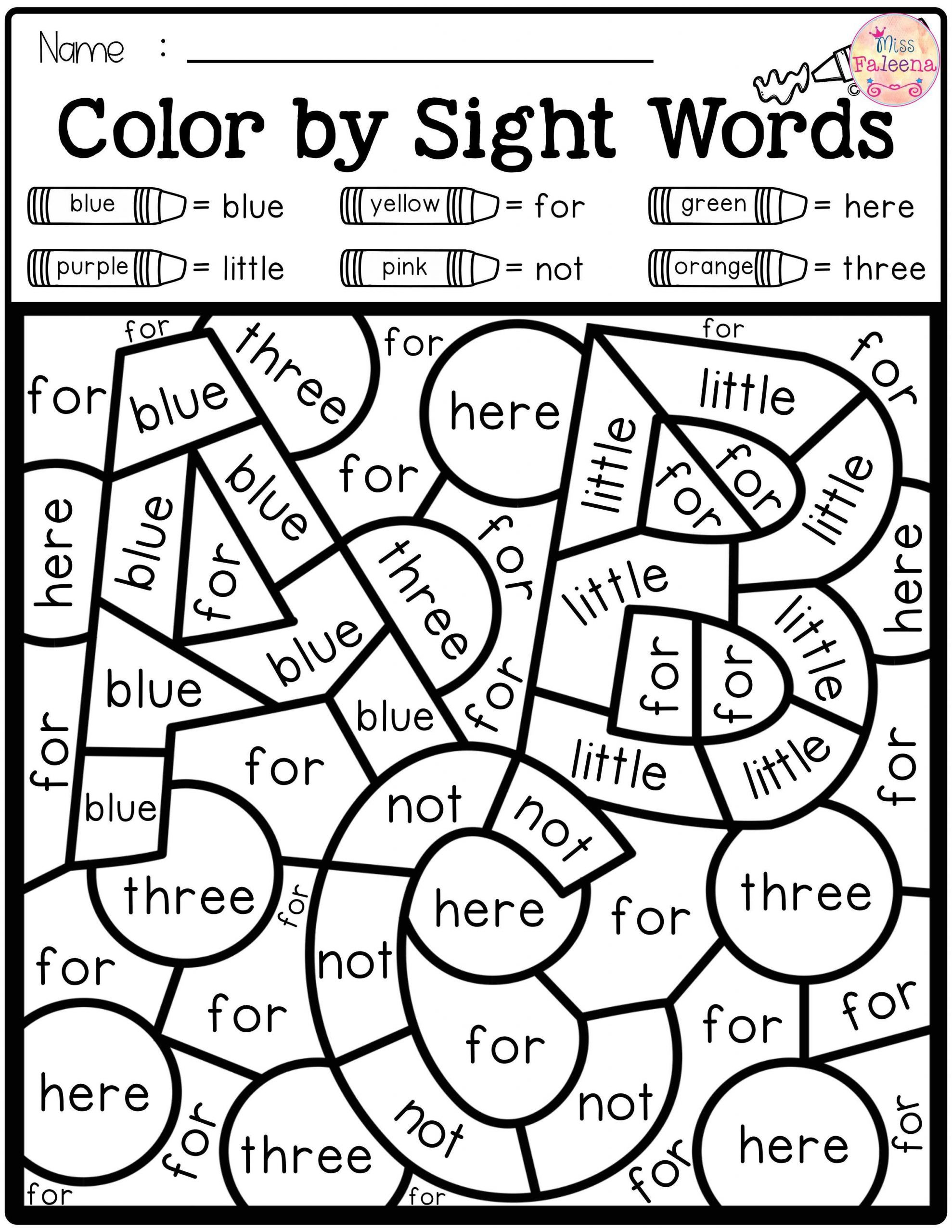 2nd Grade Sight Word Worksheets Coloring Book Words Coloring Pages Free Alphabet Sight