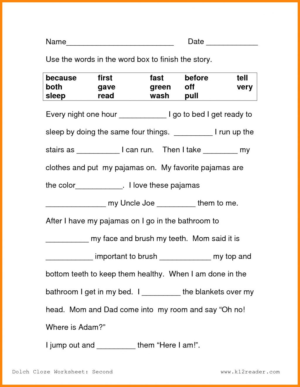 2nd Grade Writing Worksheets Pdf Worksheet Worksheet Ideas Second Gradeding Prehension