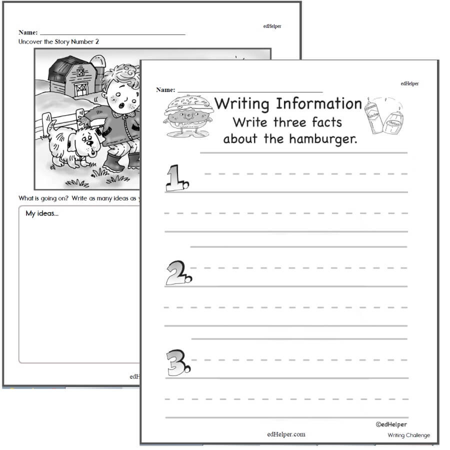 2nd Grade Writing Worksheets Pdf Writing Worksheets for Creative Kids