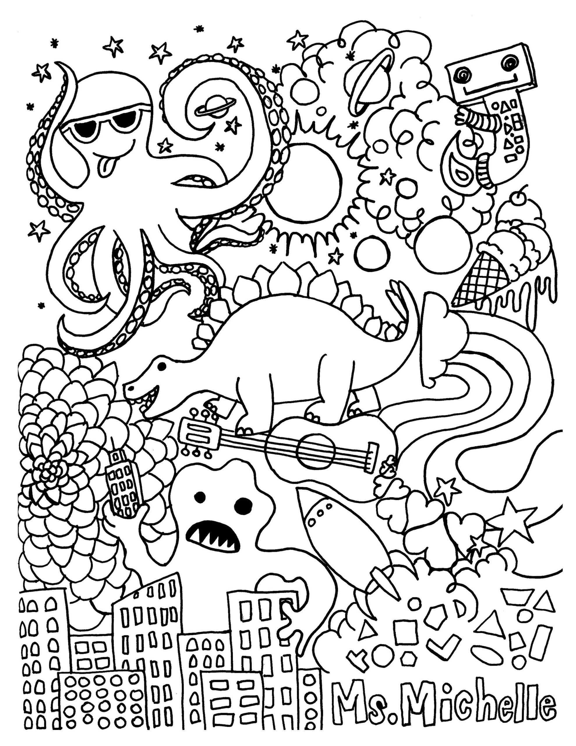 3rd Grade Art Worksheets Coloring Pages Free Printable Activity for Kids Luxury Book