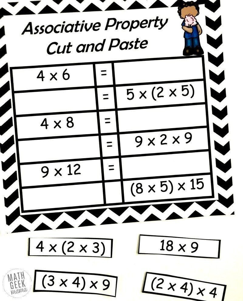 3rd Grade Distributive Property Worksheets Pin On Grade Worksheets & Sample Printables