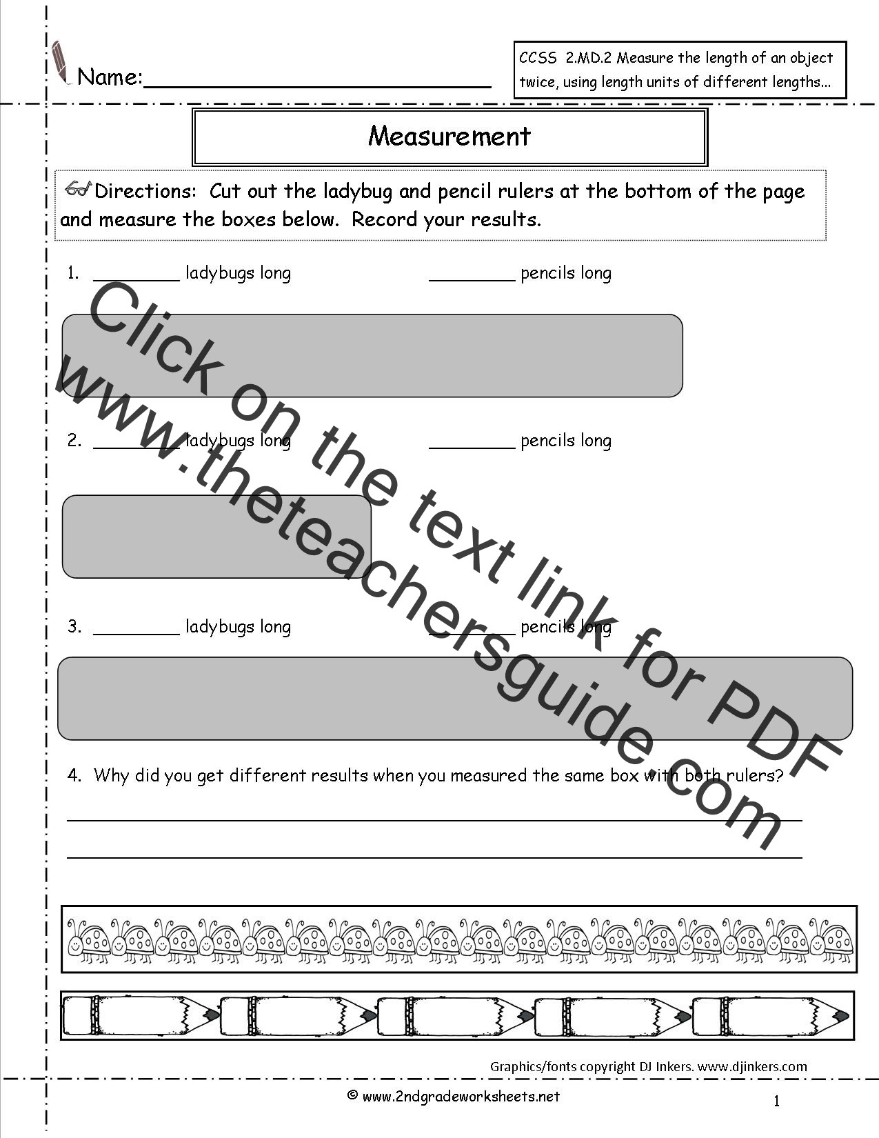 3rd Grade Math Measurement Worksheets Year 2 Maths Estimation Worksheets