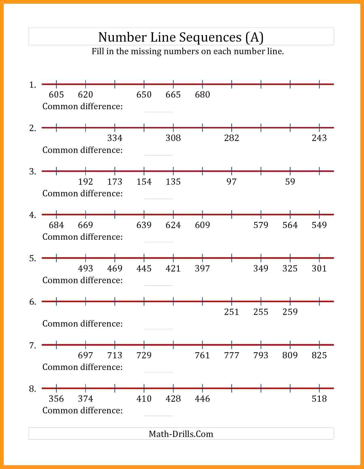 3rd Grade Number Line Worksheets Mixed Numbers A Number Line Worksheet Fractions and Mixed