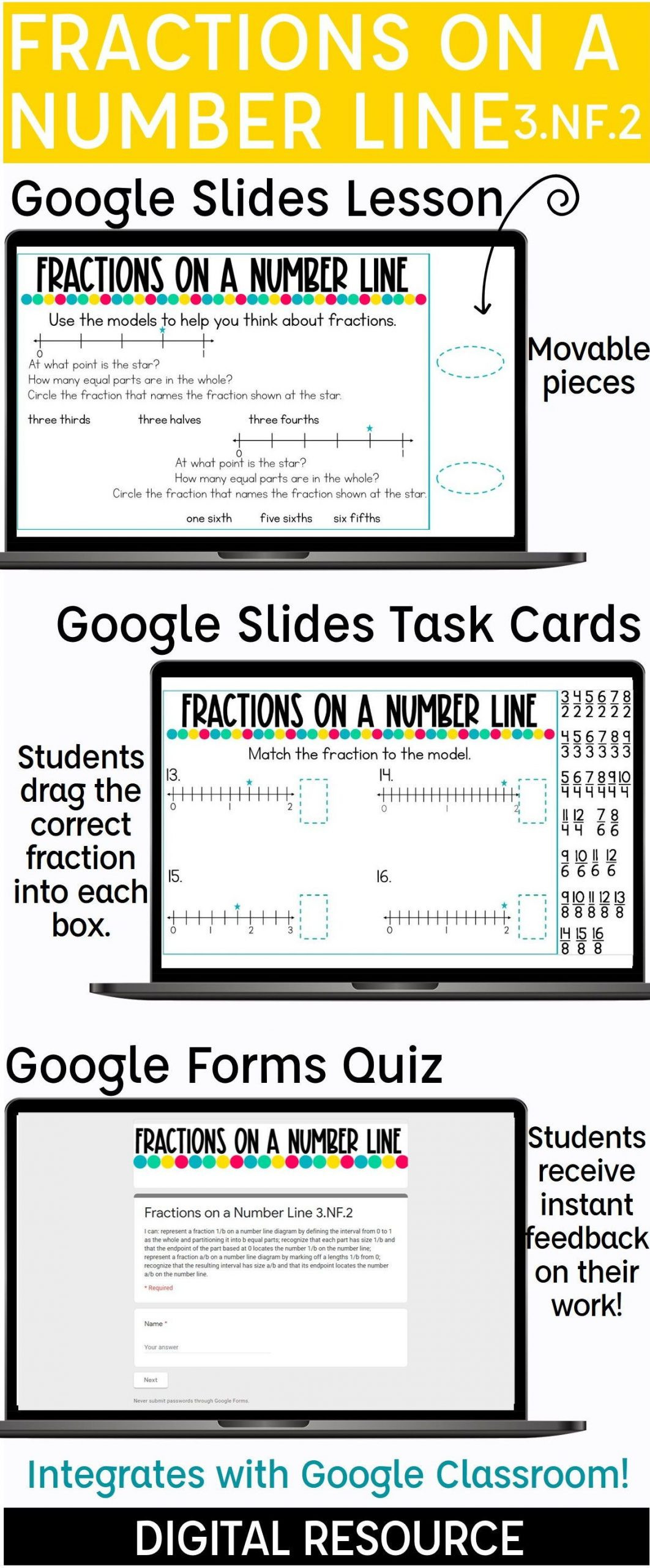 3rd Grade Number Line Worksheets Number Line Worksheets 3rd Grade Fractions A Number Line
