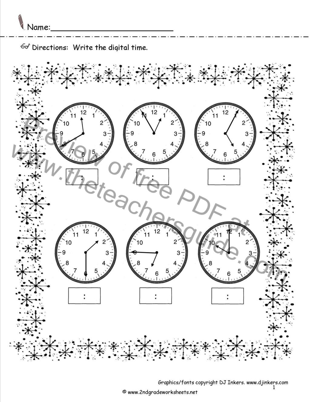 3rd Grade Perimeter Worksheets Worksheet Printable Math Worksheets Letter Kindergarten
