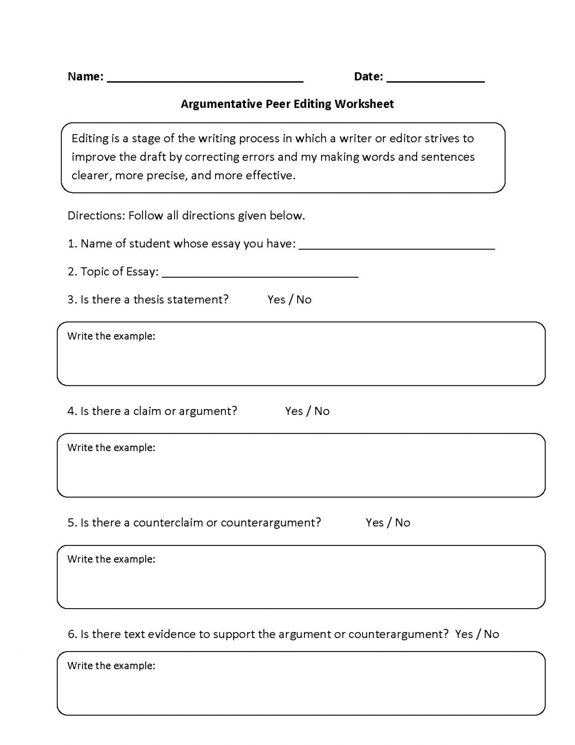 4th Grade Essay Writing Worksheets for Essay Writing Worksheet Grade 4