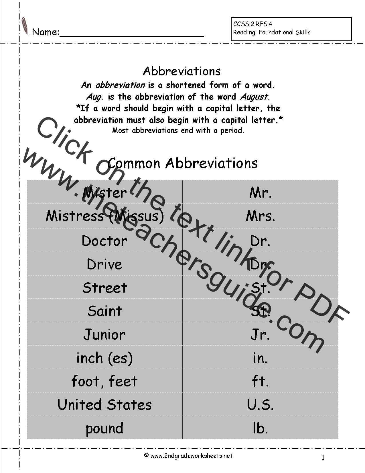 4th Grade Grammar Worksheets Pdf Free Language Grammar Worksheets and Printouts