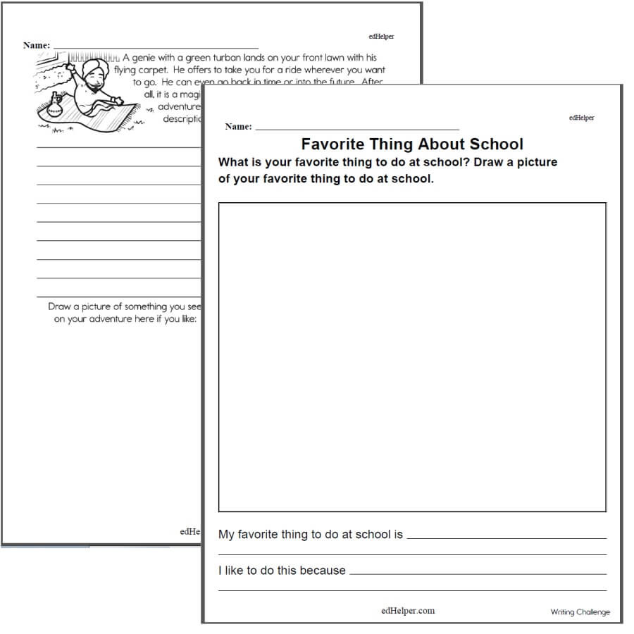 4th Grade Writing Worksheets Pdf Writing Worksheets for Creative Kids