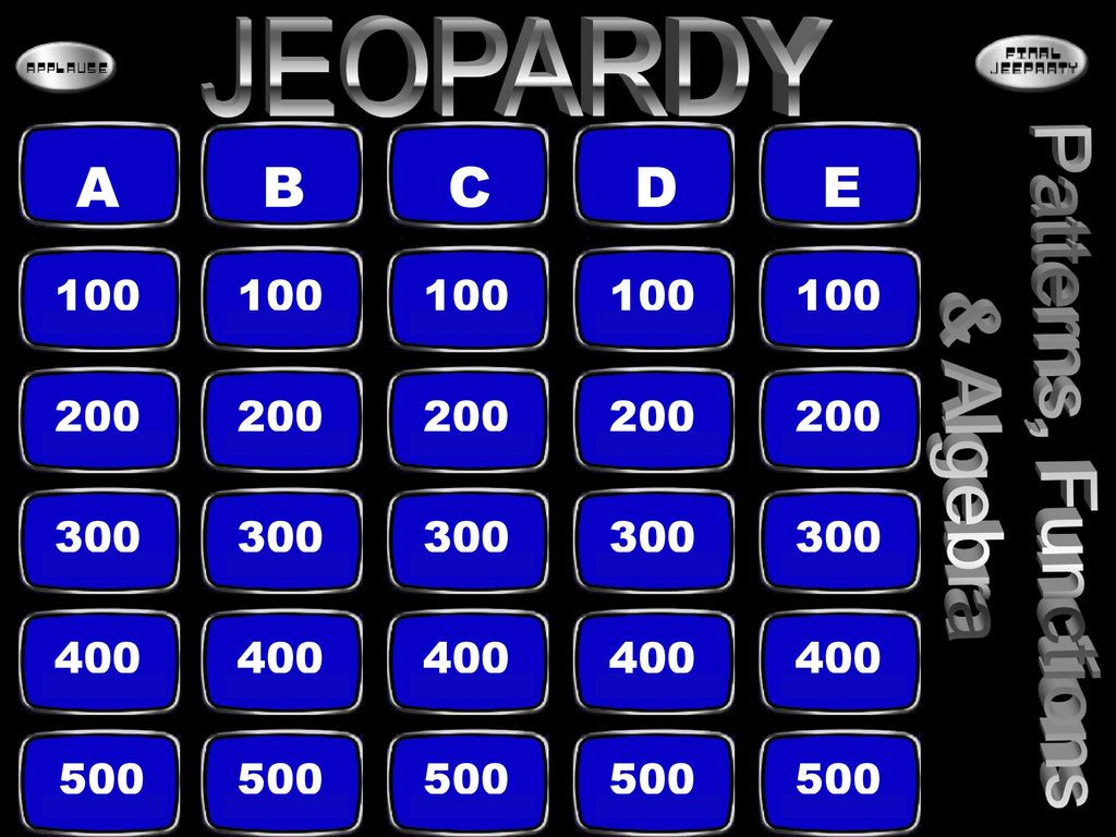 5th Grade Jeopardy Math This is 5th Math Jeopardy This is 5th Math Jeopardy Ppt