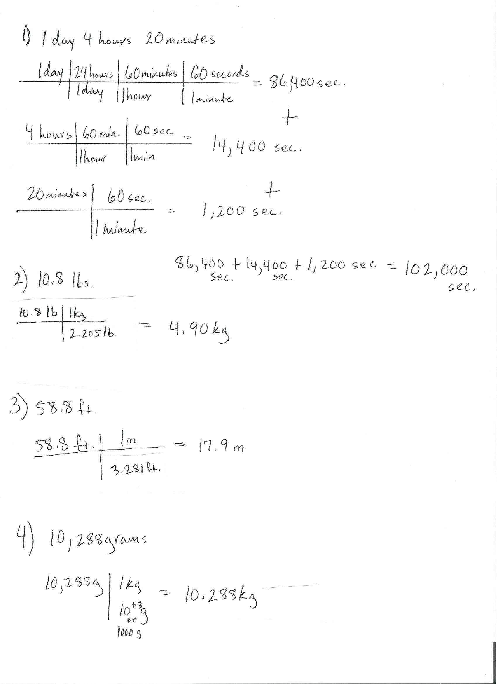5th Grade Metric Conversion Worksheets 7th Grade Unit Conversion Worksheet