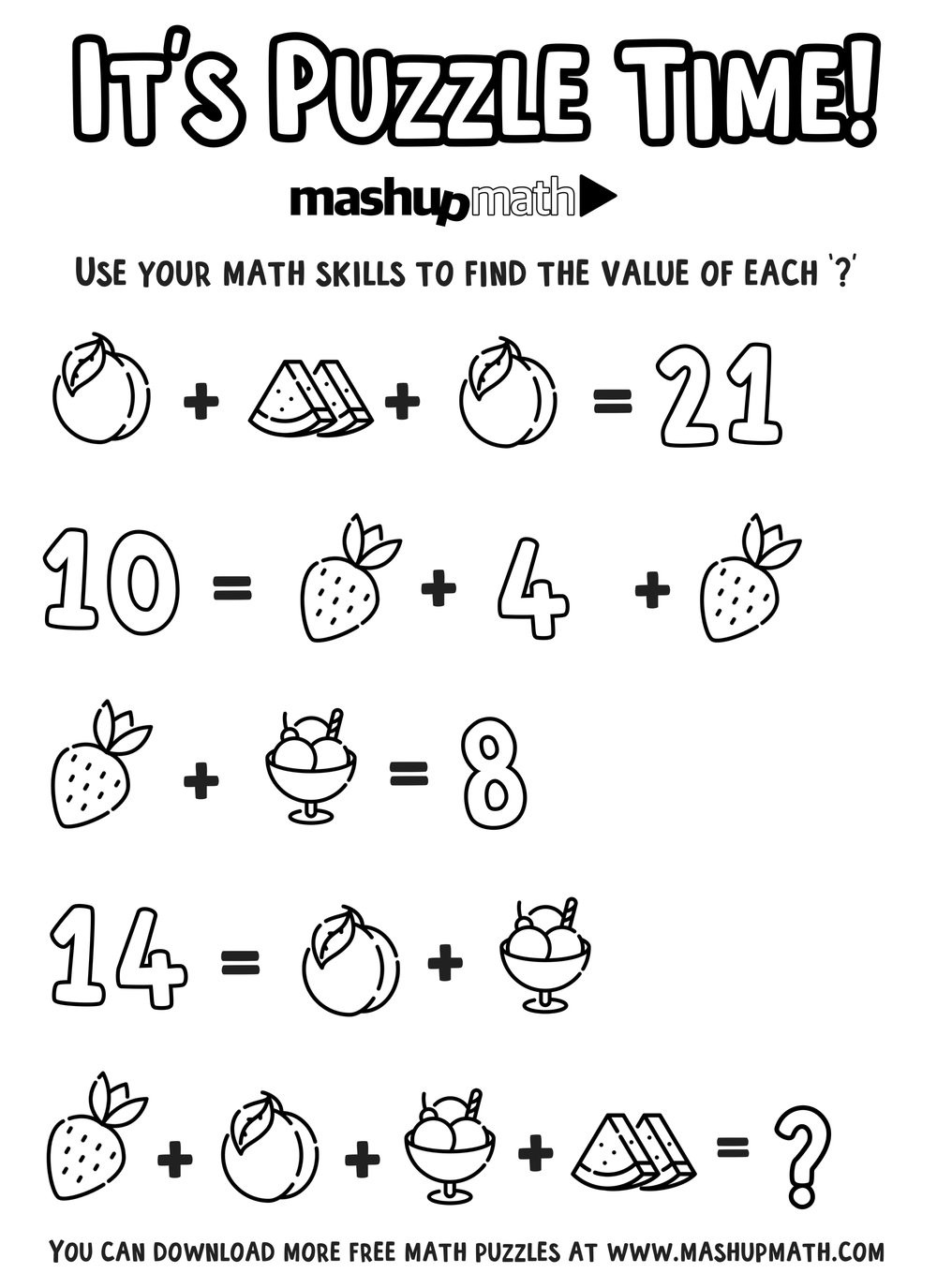 6th Grade Math Puzzles Pdf Free Math Coloring Worksheets for 5th and 6th Grade — Mashup
