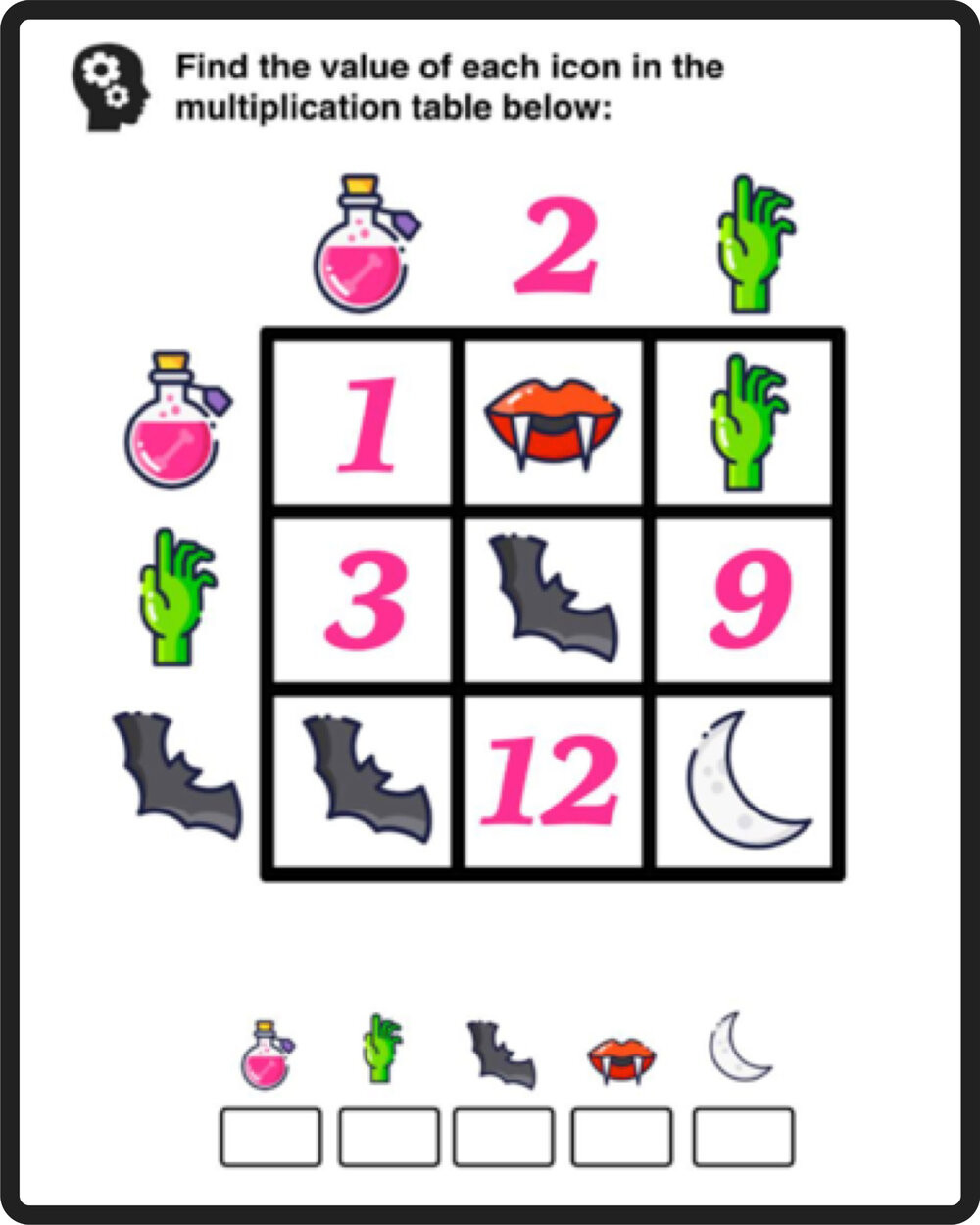 6th Grade Math Puzzles Printable Free Math Puzzles — Mashup Math