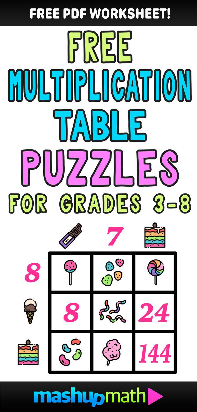 6th Grade Math Puzzles Printable Multiplication Table Worksheets Free Printable Math Puzzles