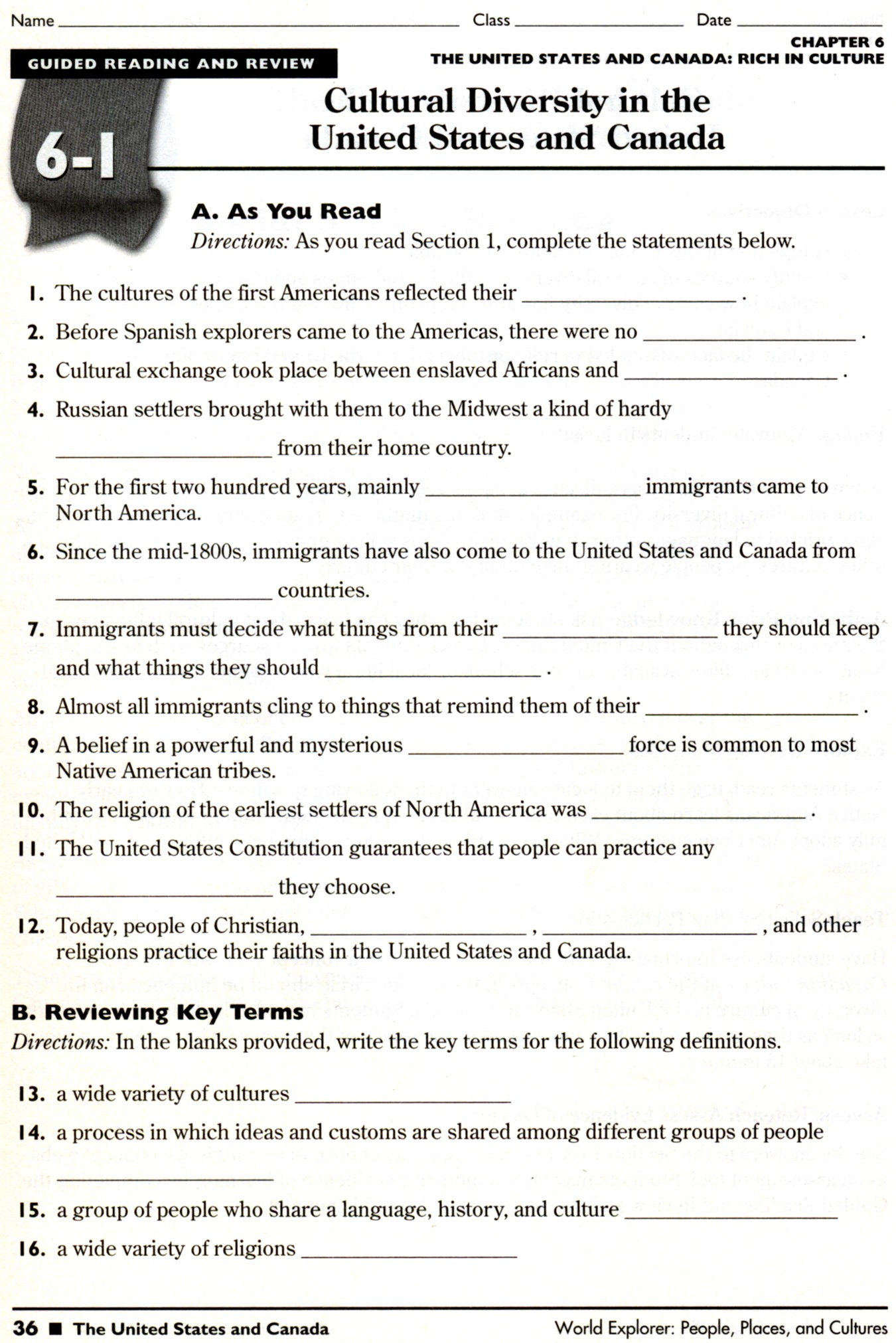 7th Grade World History Worksheets 9th Grade World History Worksheets