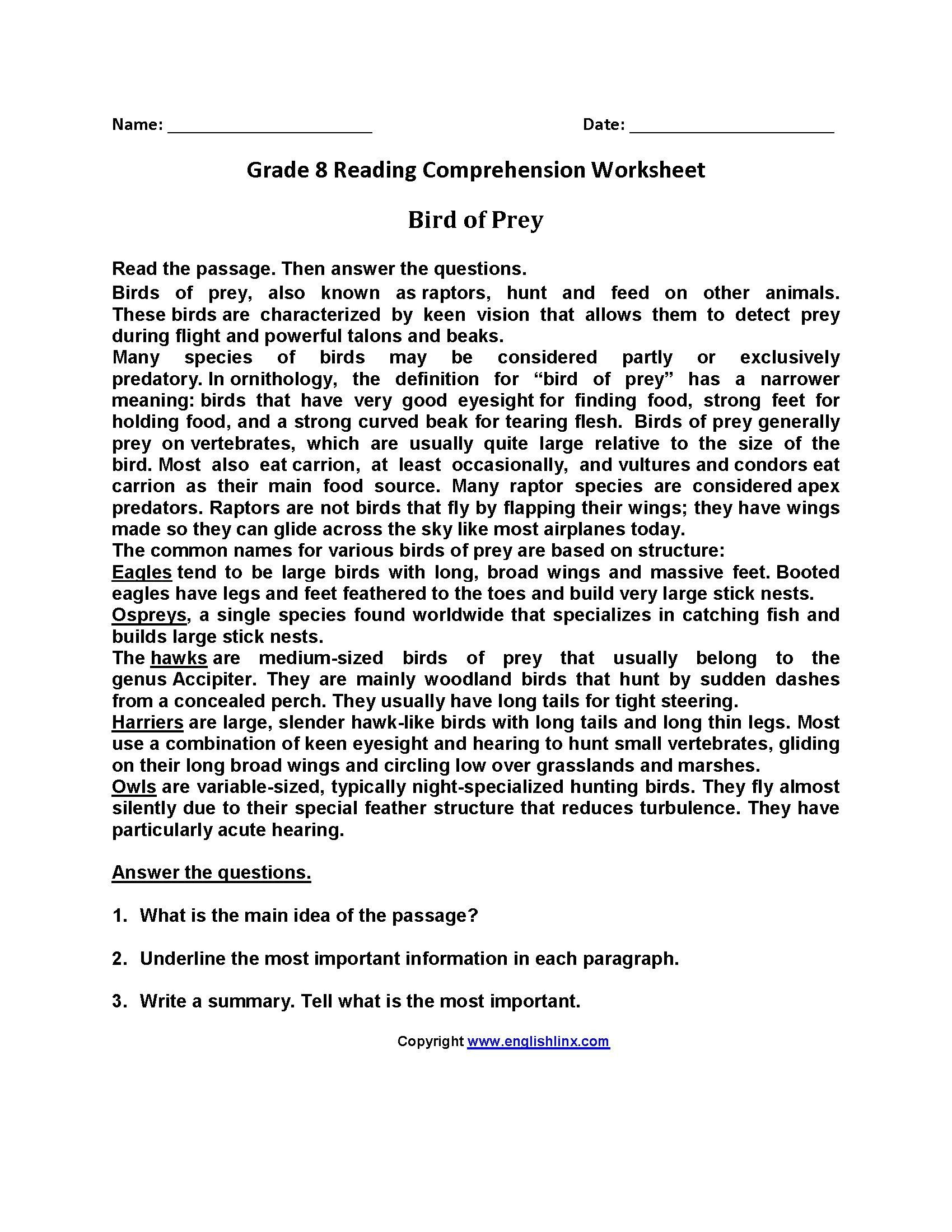 8th Grade Main Idea Worksheets Worksheet Ideas Chap12 Proofreading Practice Worksheets