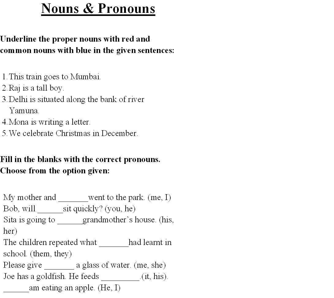 9th Grade Grammar Worksheets Pdf English Grammar for Class 1 Worksheets