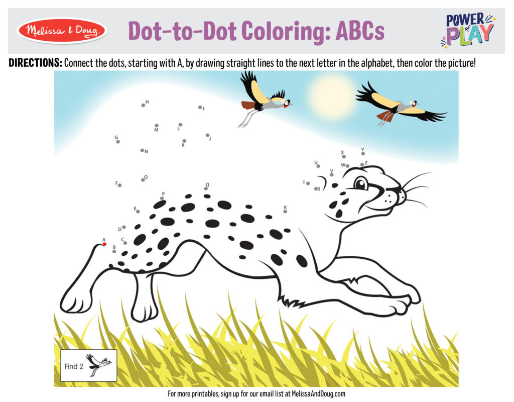 Abc Connect the Dots Printable 10 Connect the Dots Printables for Kids to Practice their
