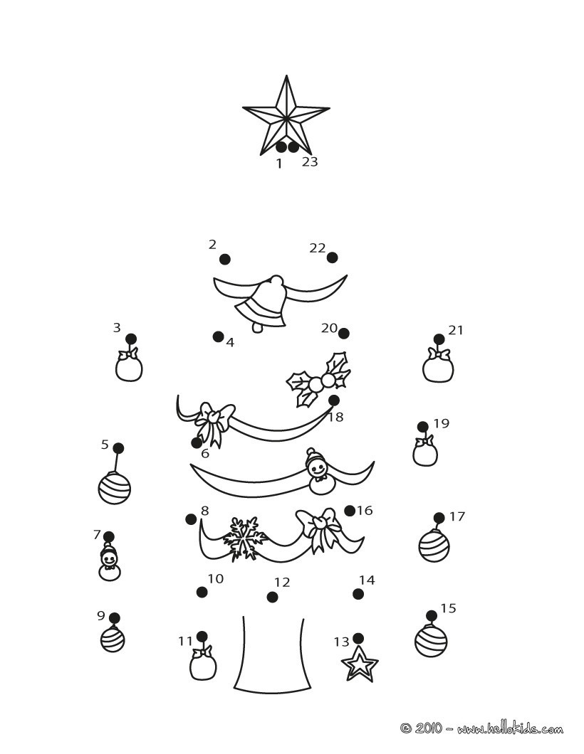 Abc Dot to Dot Printable Christmas Dot to Dot 24 Free Dot to Dot Printable