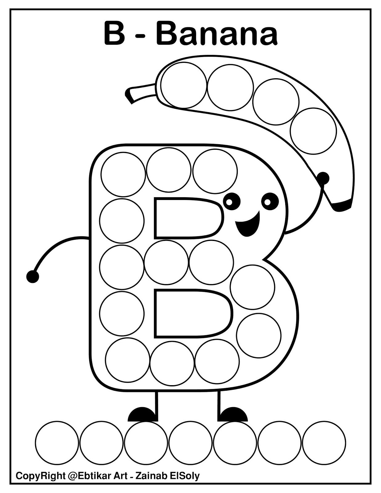 Abc Dot to Dot Printable Set Of Abc Dot Marker Coloring Pages