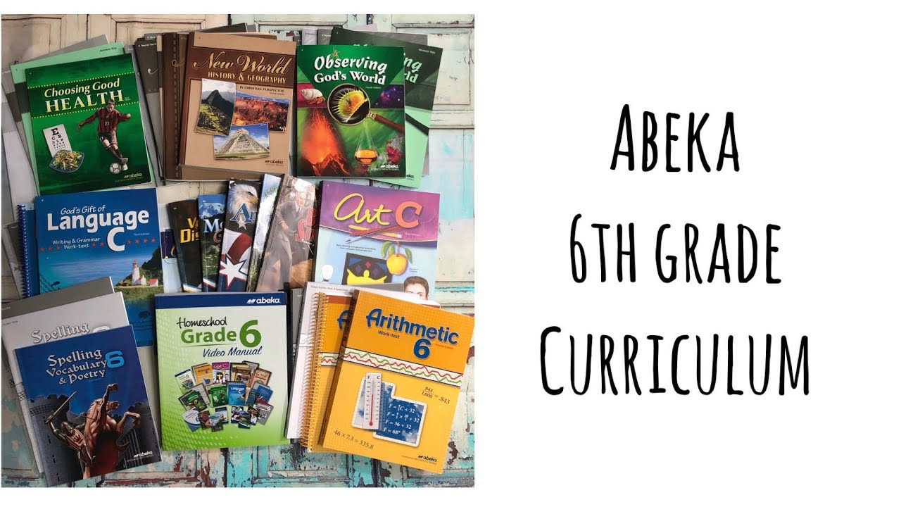 Abeka 6th Grade Science Abeka Homeschool 6th Grade Curriculum