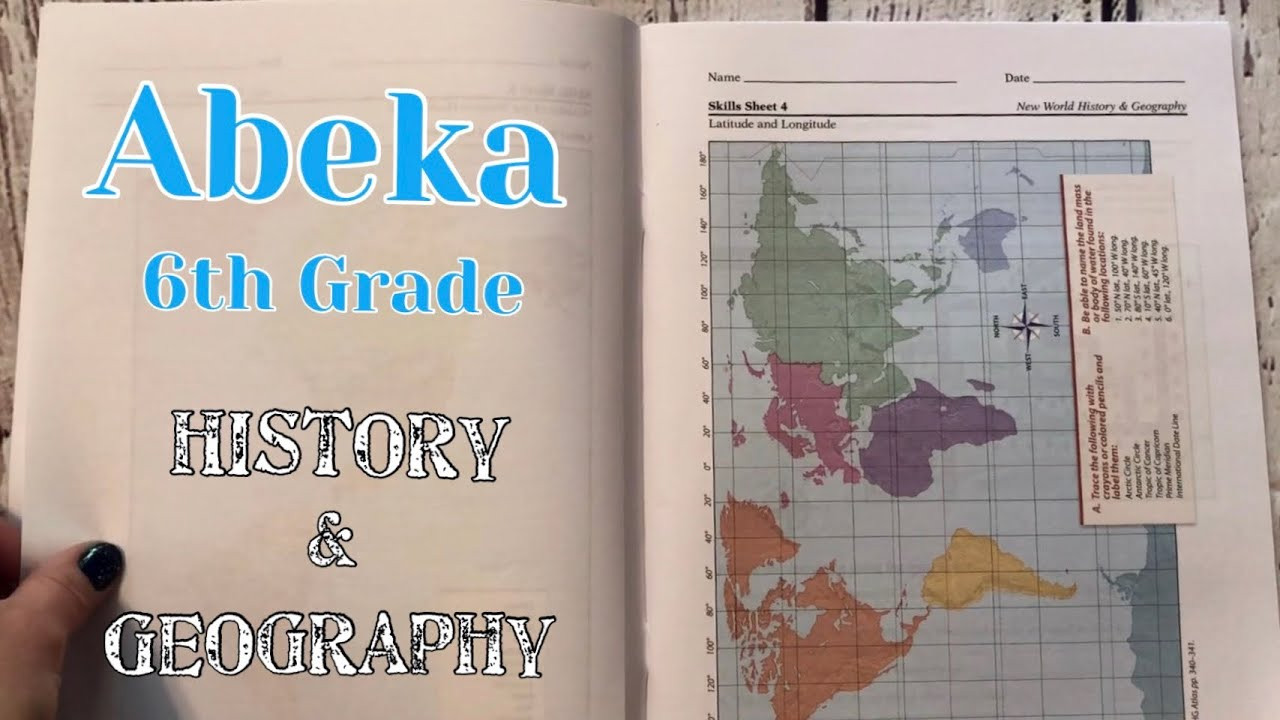 Abeka 6th Grade Science Abeka Homeschool 6th Grade History & Geography Curriculum