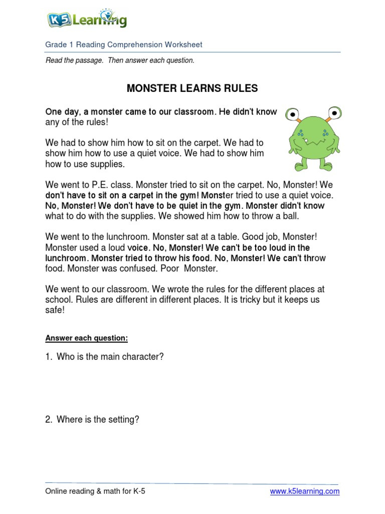 Amphibian Worksheets for Second Grade Math Worksheet Grade Reading Worksheet Math Year
