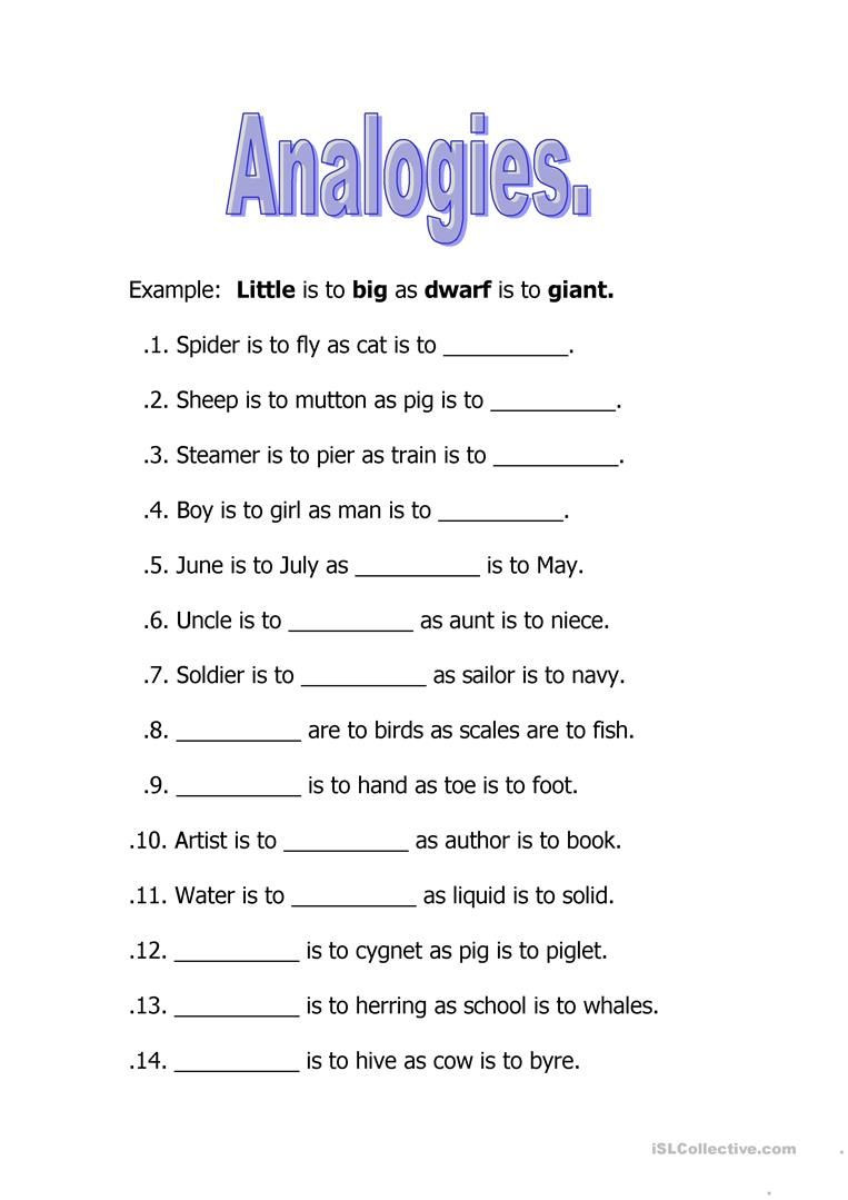 Analogy Worksheets for Middle School Image Result for Analogies Worksheet