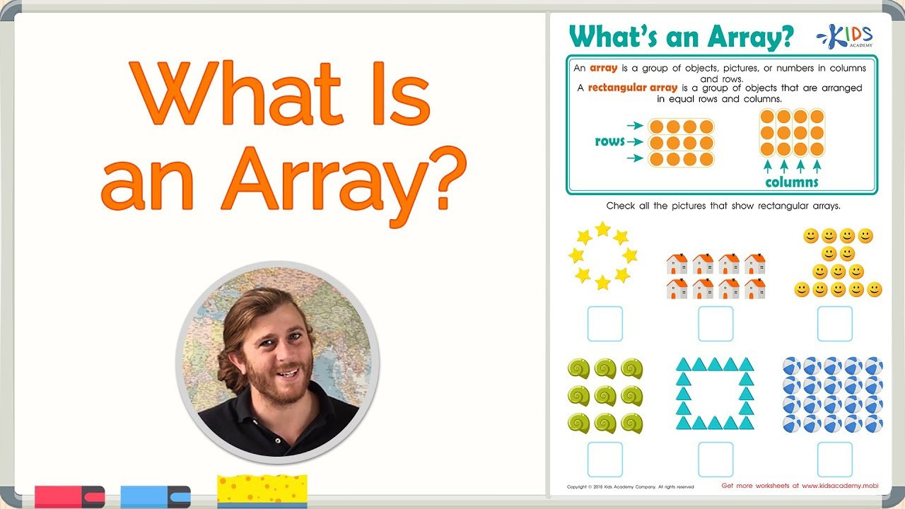Array Math Worksheets Arrays for Kids Math for 2nd Grade