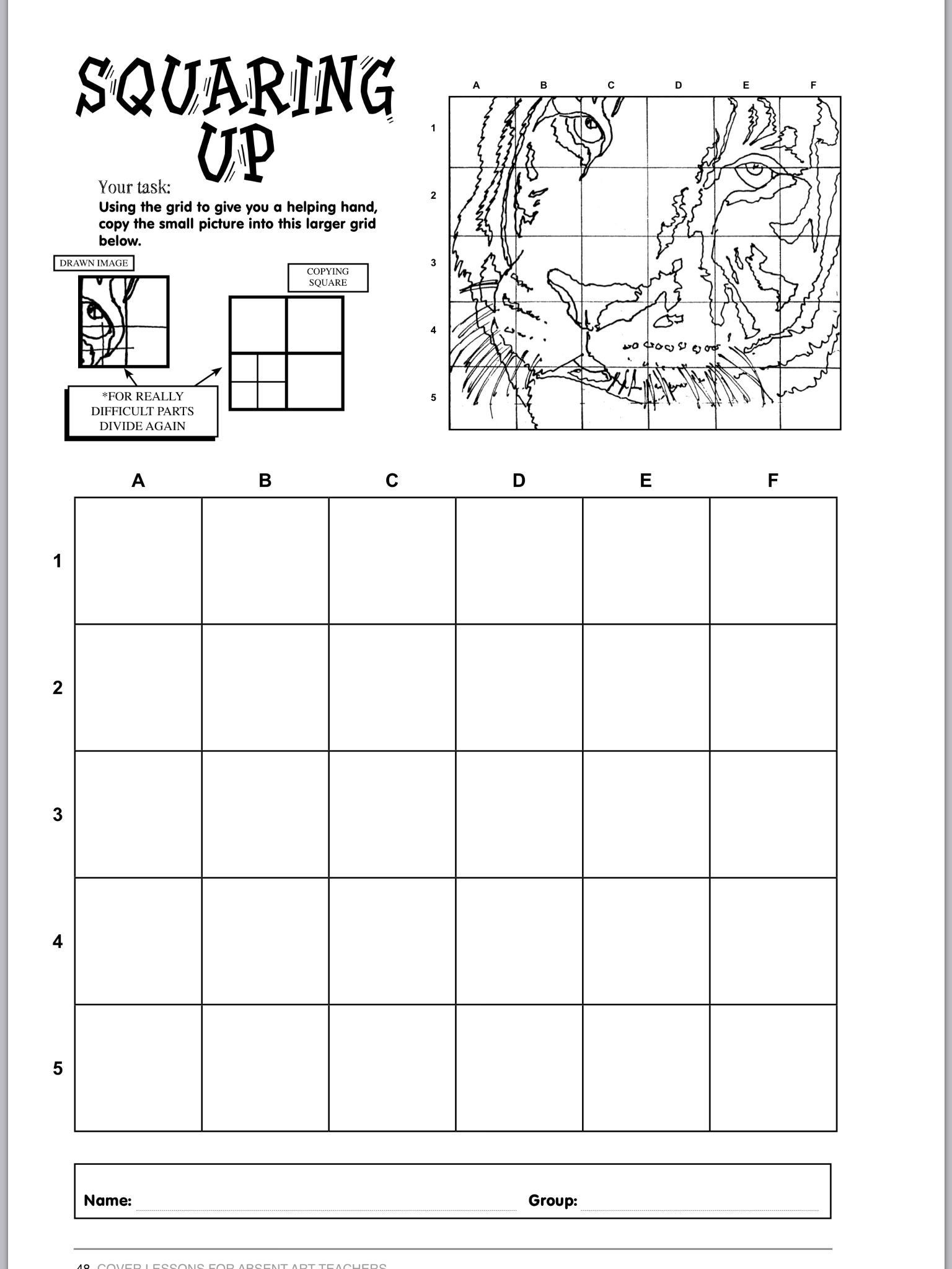 Art Worksheets Middle School Pin On Art