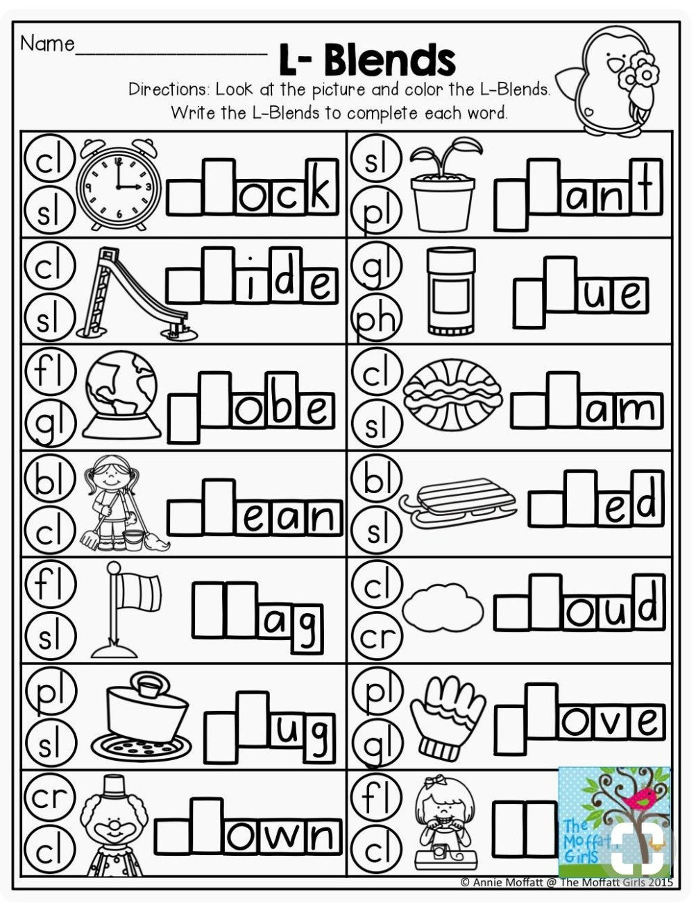 Blends Worksheets for 1st Grade Worksheet Awesome 1st Grade Phonicsrksheets Image Ideas