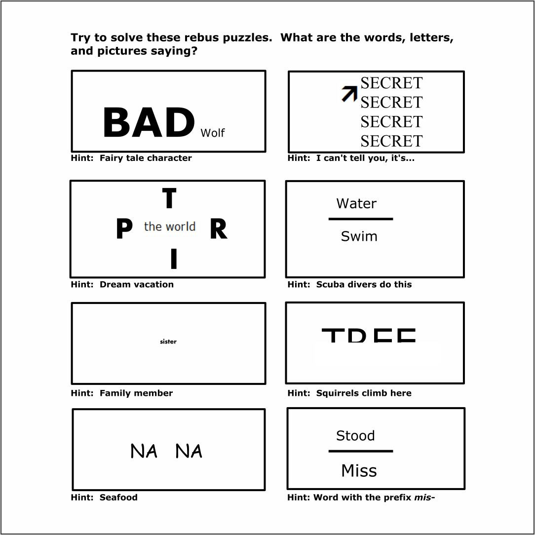 Brain Teasers Printable Worksheets Brain Teasers Worksheets