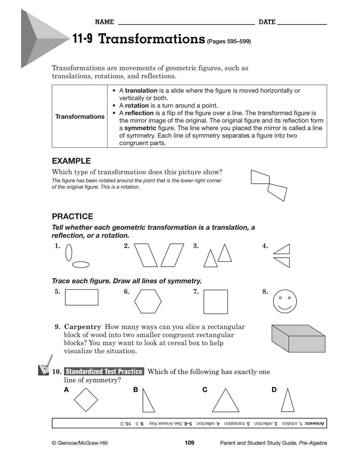 Carpentry Math Worksheets Pin On Printable Math Worksheet