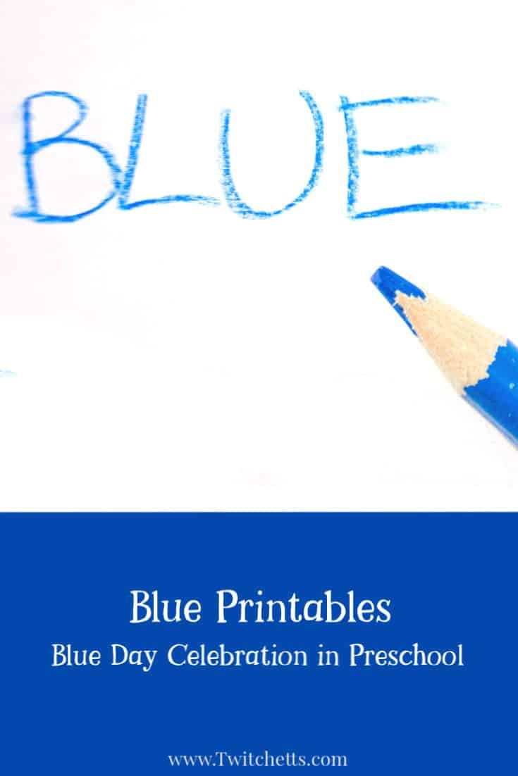 Color Blue Worksheets for Preschool Color Blue Worksheets for Preschool In 2020 with Images