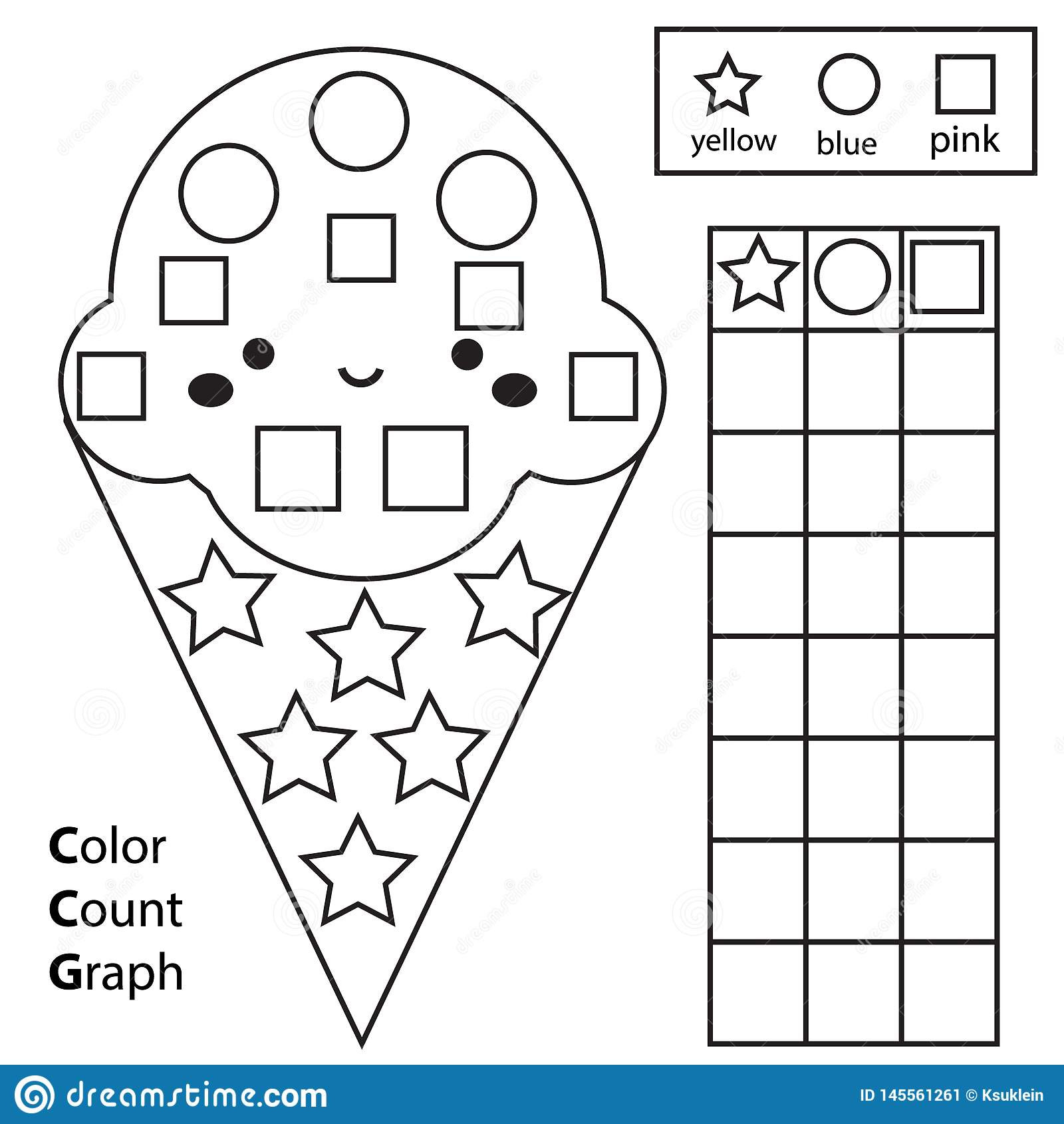 Color Blue Worksheets for Preschool Coloring Book Worksheets for Kids Coloring Color Count