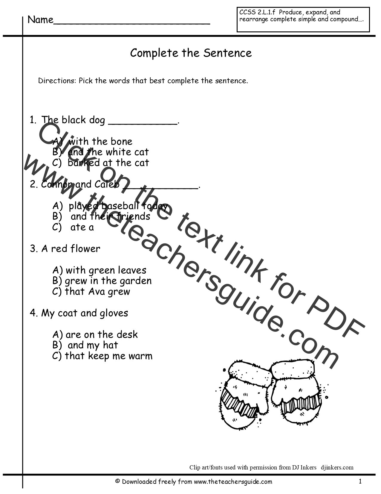 Complete Sentences Worksheets 3rd Grade 1st Grade Sentence Correction Worksheets