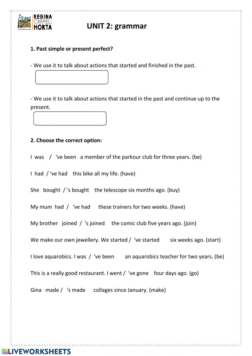 Conjunctions Worksheet 5th Grade 5th Grammar Unit 2 Interactive Worksheet