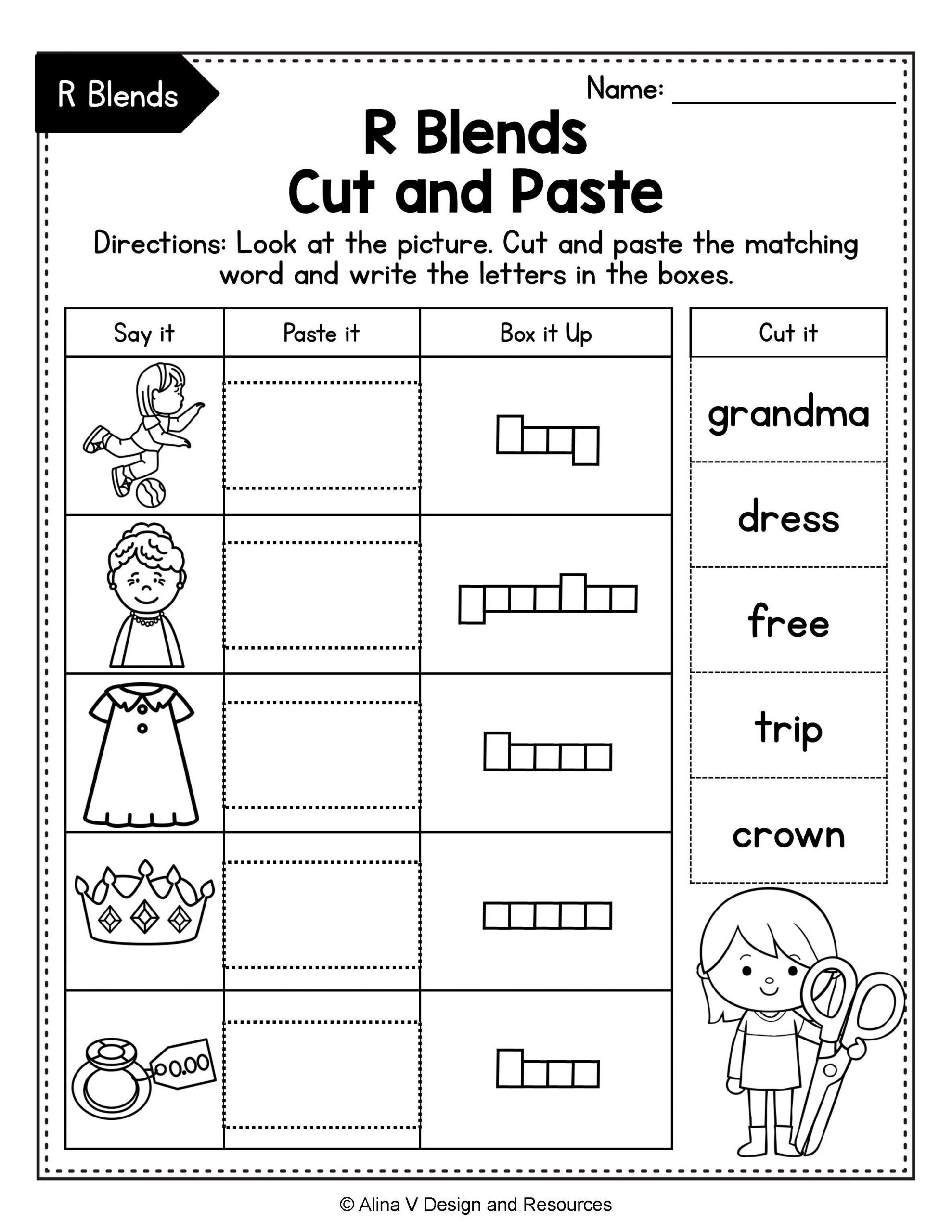 Consonant Blends Worksheets 3rd Grade Pin On Alina V Design
