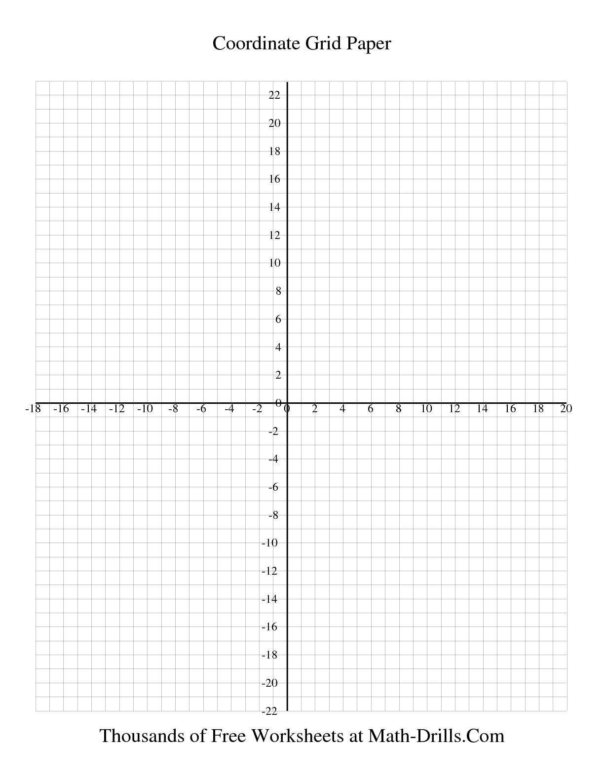 Coordinate Grid Worksheets 6th Grade Blank Coordinate Grid Worksheets