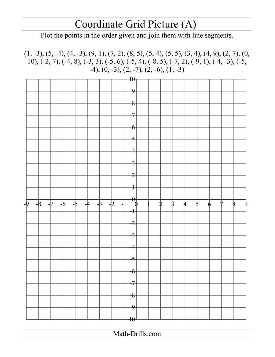 Coordinate Grids Worksheets 5th Grade Pin On Educational Worksheets Template