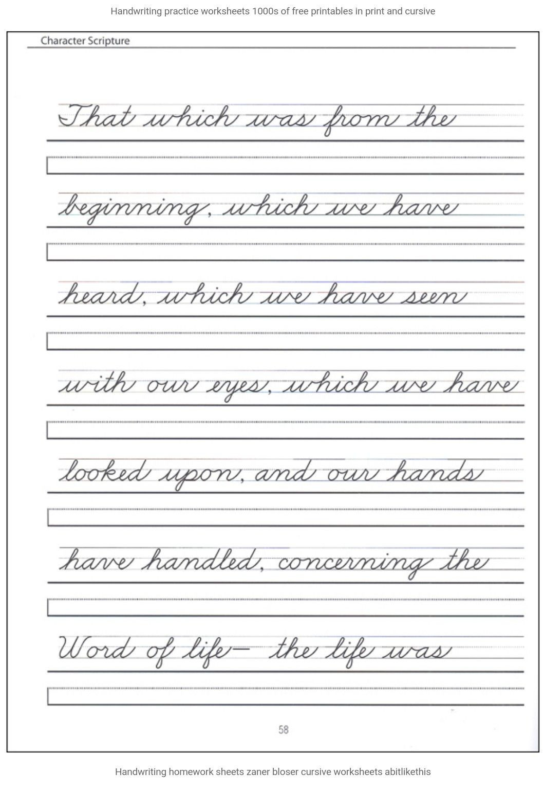 Cursive Sentences Worksheets Printable Pin by Annette 🌸🌼🌺 On Cursive Writing