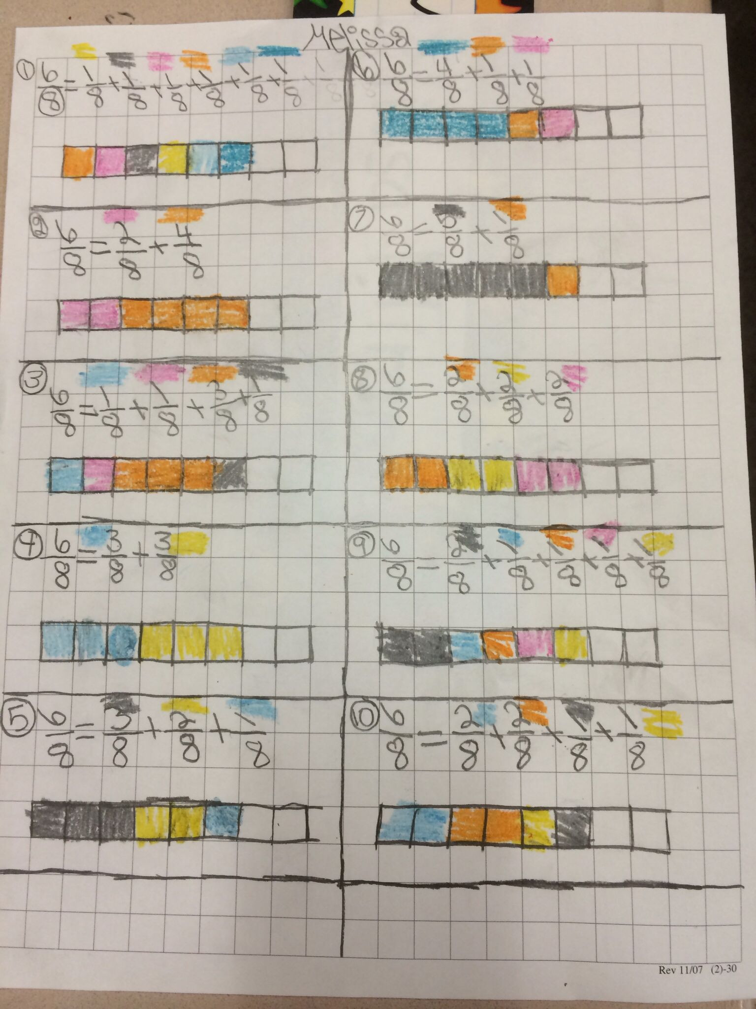 Decomposing Fractions Worksheets 4th Grade 4nf3 De Posing Fractions
