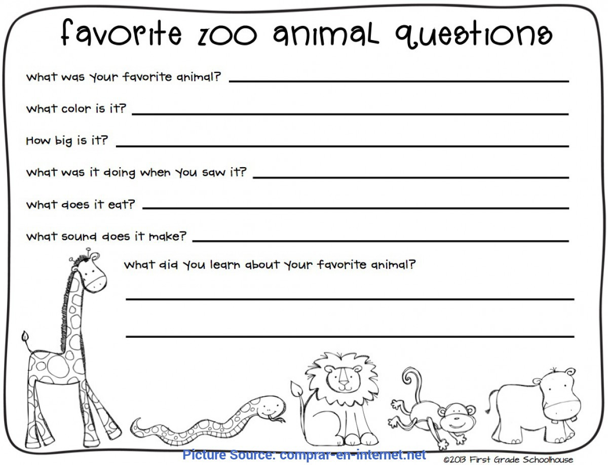 Dialogue Worksheets 3rd Grade Excellent Zoo Lesson Plans 3rd Grade Zoo Field Trip