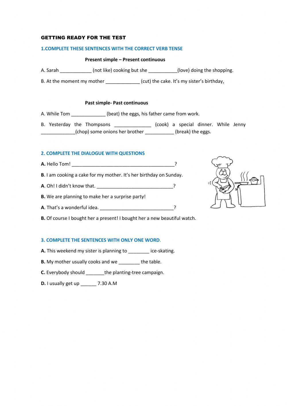 Dialogue Worksheets 3rd Grade Revision 3rd Jrs Interactive Worksheet