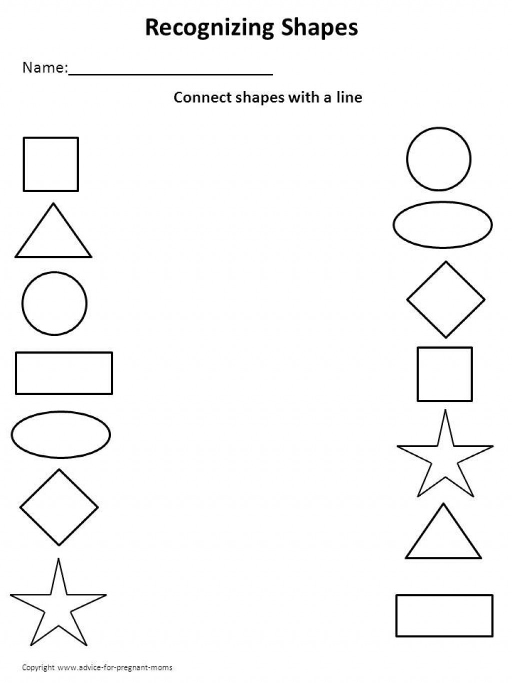 Diamond Worksheets for Preschool the Elegant as Well as attractive Printable Worksheet for