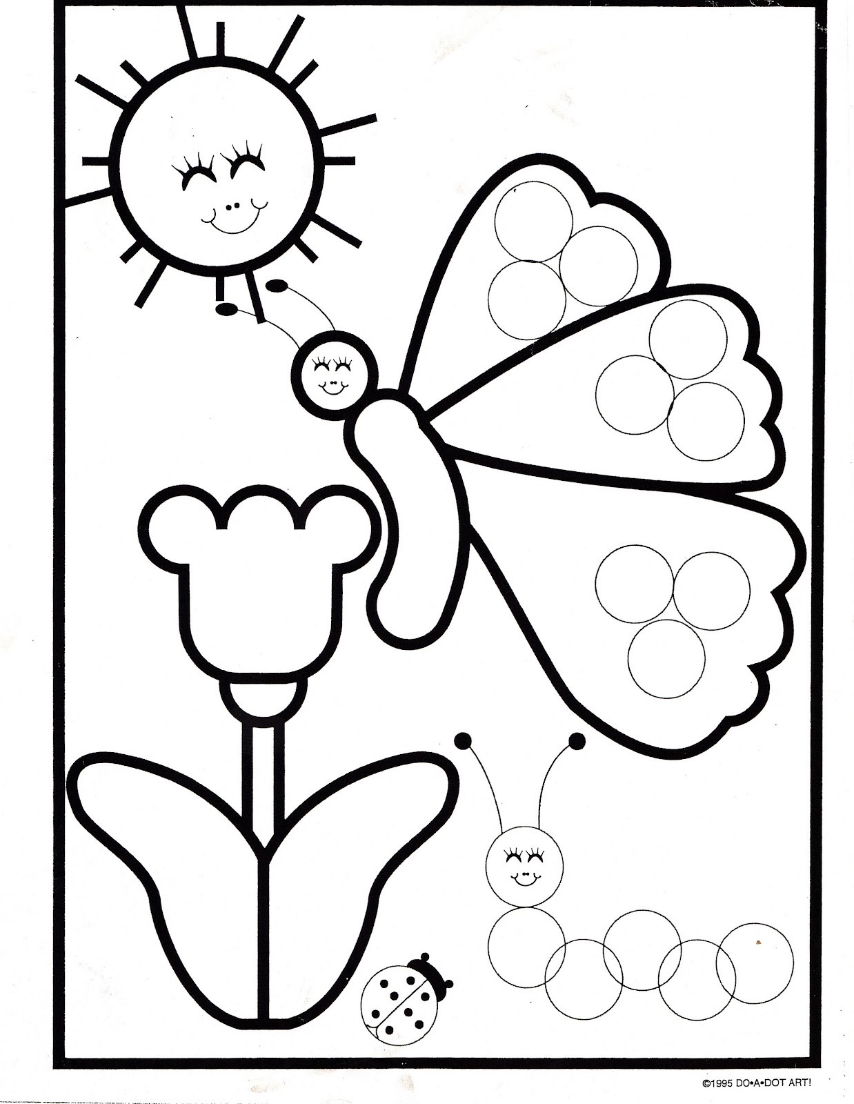 Dot to Dot Art Printables 7 Best Of Caterpillar Dot Art Printables Do A Dot